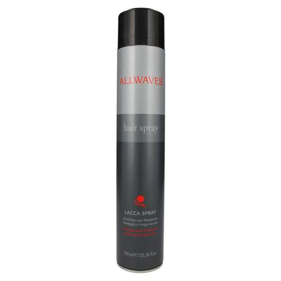 Allwaves Hair Spray lakier do włosów 750 ml Black
