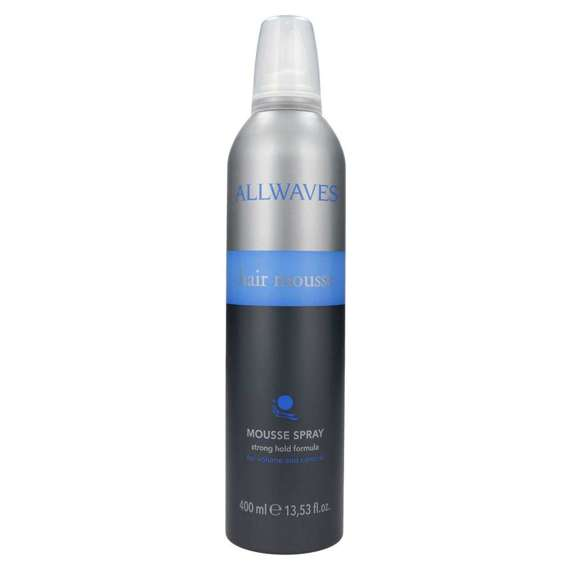 Allwaves Hair Mousse pianka do włosów 400 ml Black